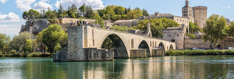 Excursão a Avignon, Châteauneuf-du-Pape e Les Baux