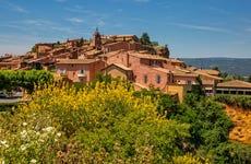 Excursion à Roussillon, Gordes, Lourmarin et Bonnieux