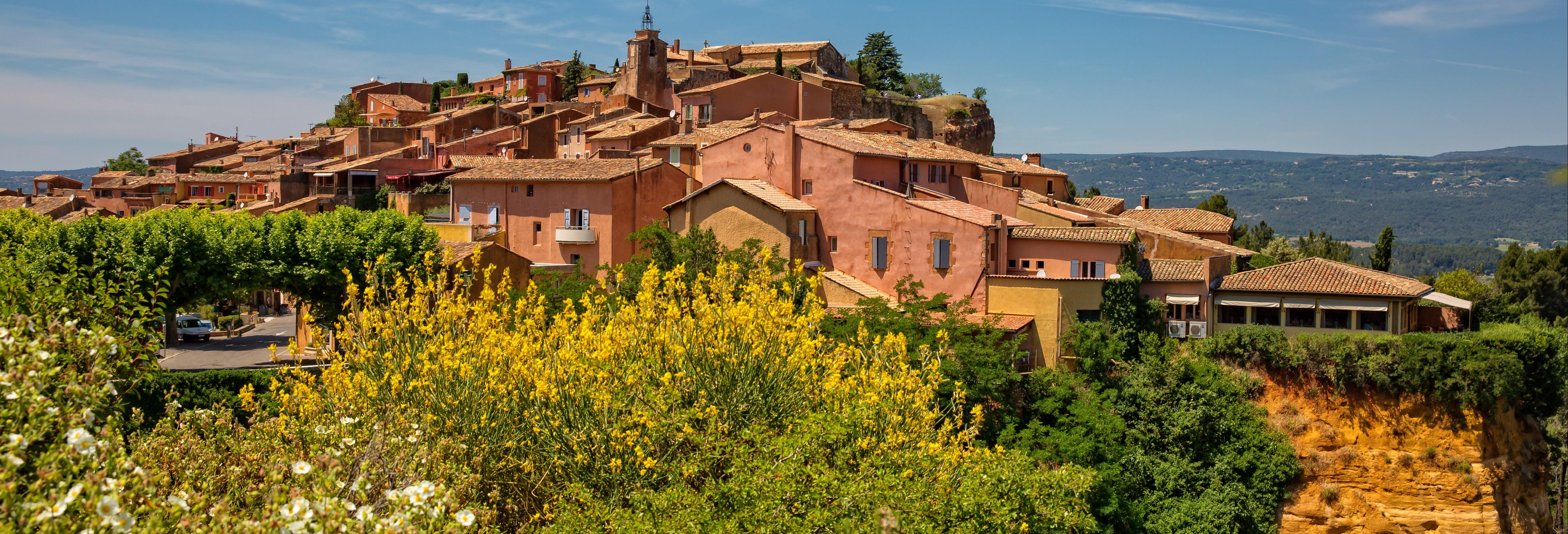 Excursión a Roussillon, Gordes, Lourmarin y Bonnieux
