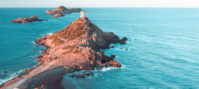 Croisière dans les îles Sanguinaires
