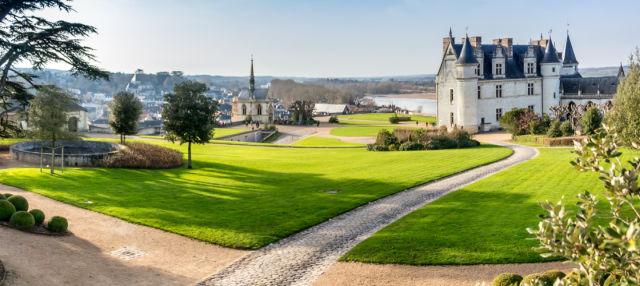 Entrada al castillo de Amboise