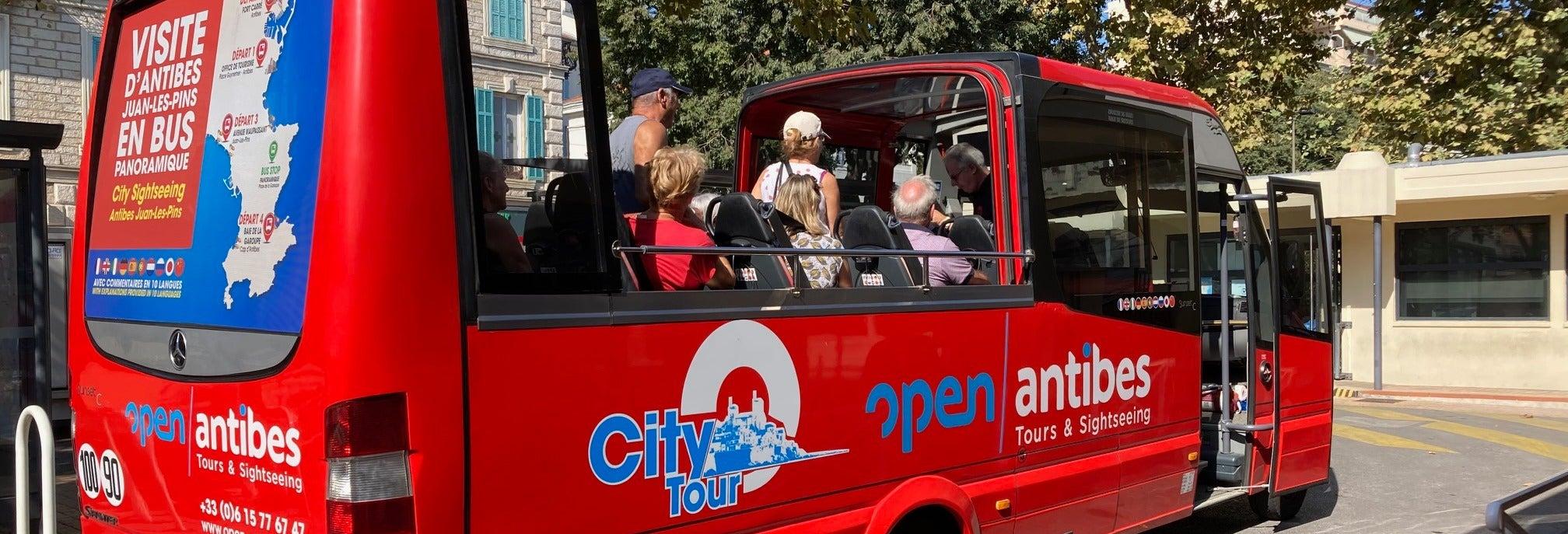 Autobus turistico di Antibes
