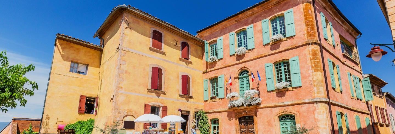 Excursão a Roussillon e Gordes