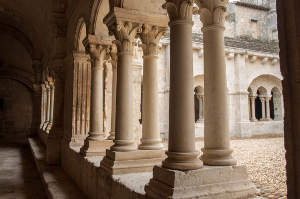 The Cloister of Montmajour Abbey