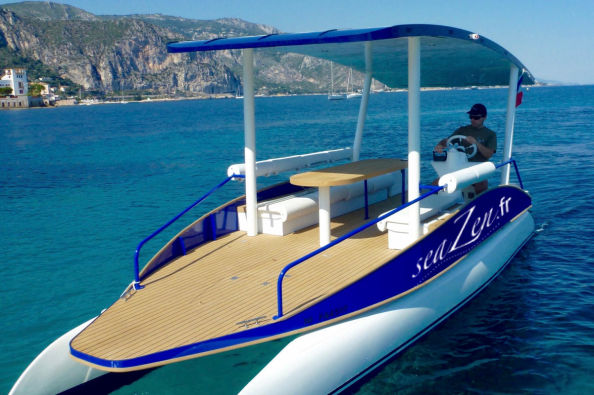 The private boat of Beaulieu-sur-Mer