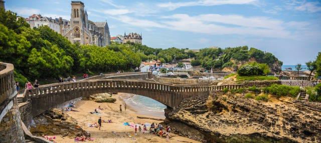Visite privée dans Biarritz