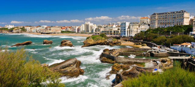 Visita guiada por Biarritz