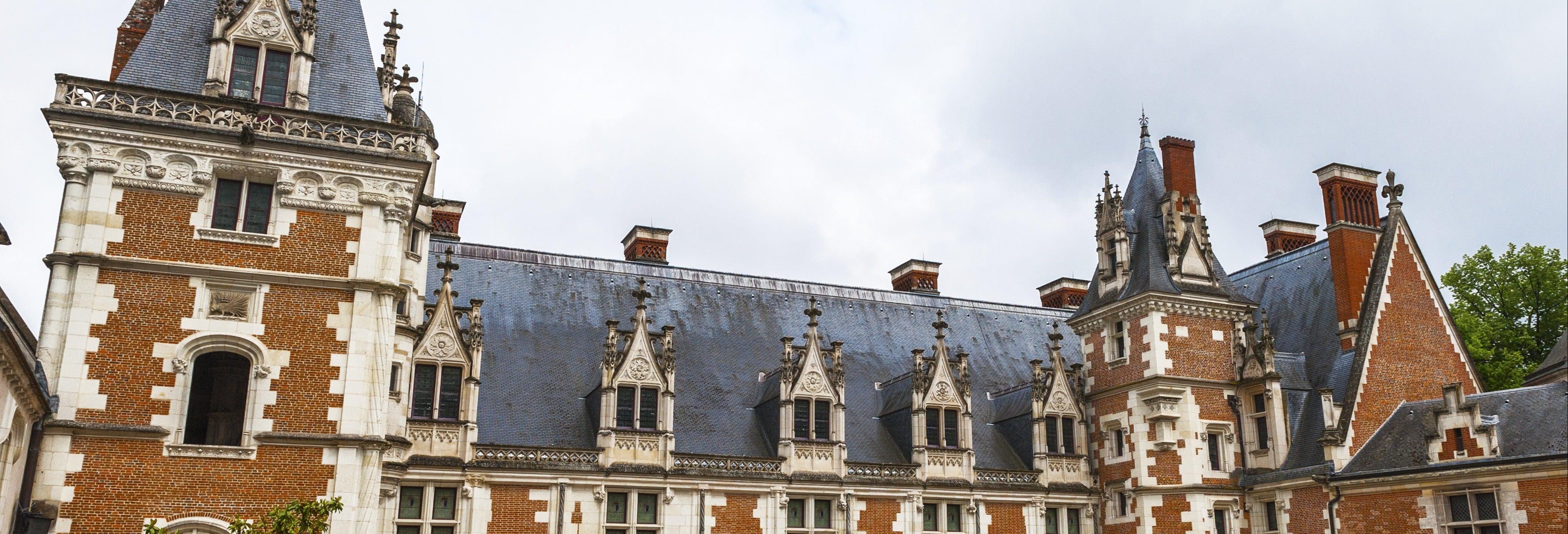 Espectáculo de luz y sonido en el castillo de Blois