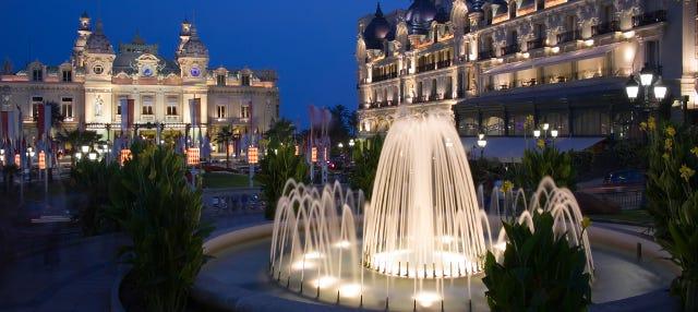 Excursión nocturna a Mónaco
