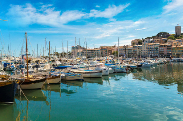 The remarkable port of Cannes
