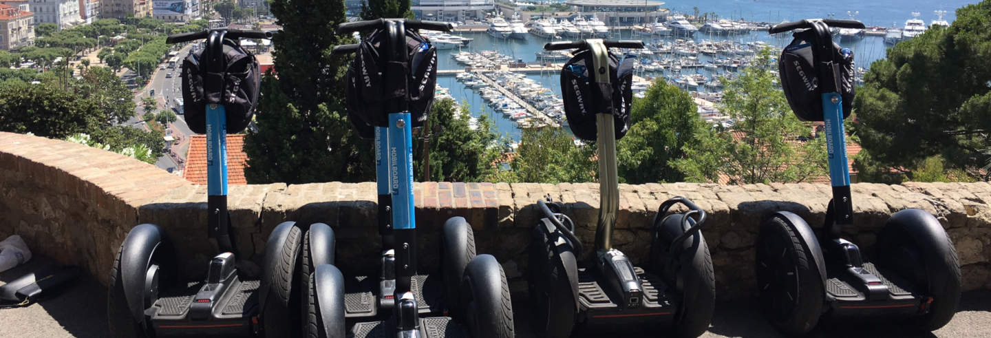 Tour di Cannes in segway