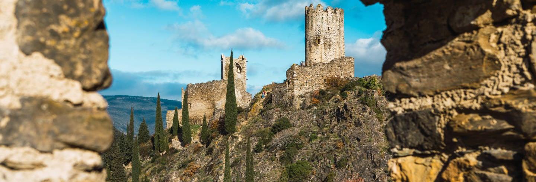 Excursion aux Châteaux de Lastours
