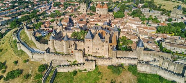 Tour privado por Carcassonne com guia em português