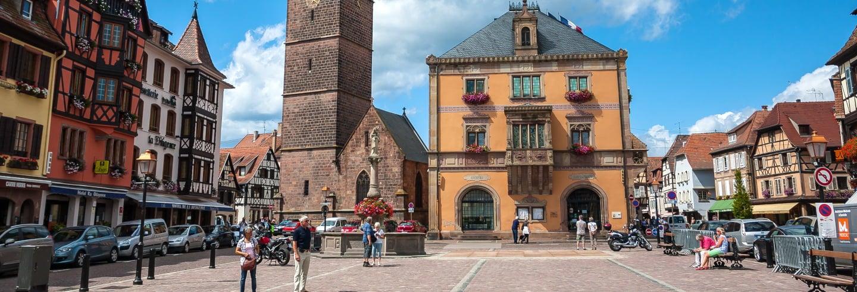 Excursión a Obernai y Andlau