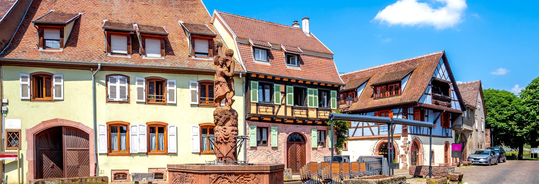 Tour por Alsácia + Degustação de vinhos