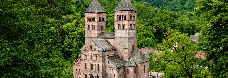 Tour por Eguisheim, Turckheim y abadía de Murbach