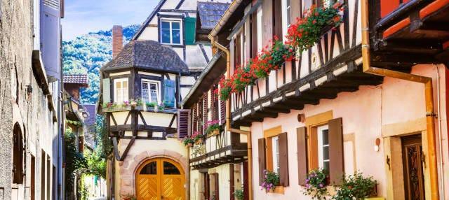 Visite des villages d'Alsace