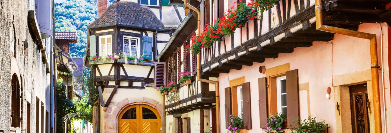 Tour pelos povoados da Alsácia