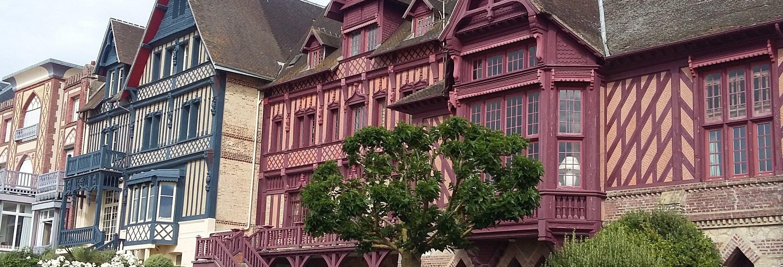 Balade à vélo dans Deauville et Trouville-sur-Mer