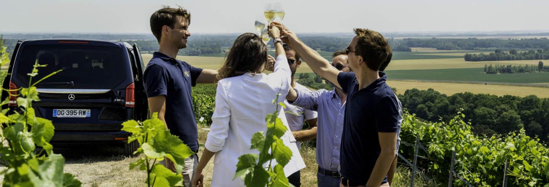 Tour por Épernay, Hautvillers y Mareuil + Bodegas Moët & Chandon