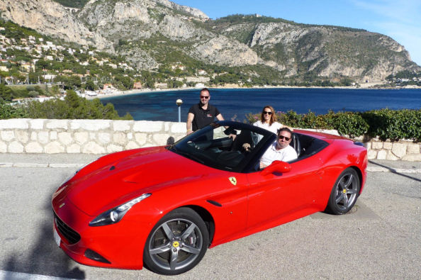 Drive a Ferrari in the south of France