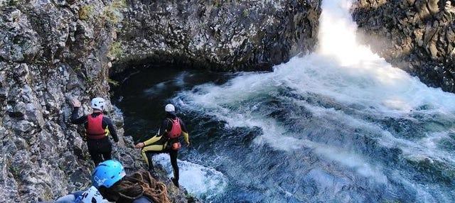 Randonnée aquatique dans la Rivière des Roches