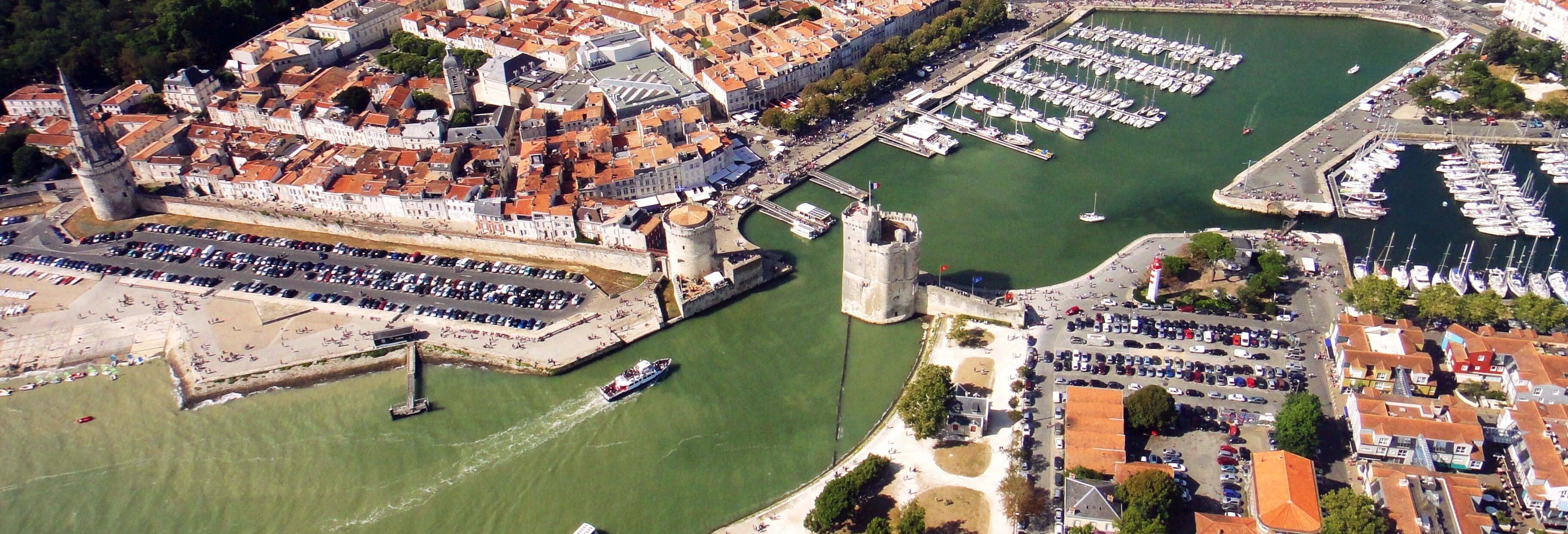 Paseo en avioneta por La Rochelle