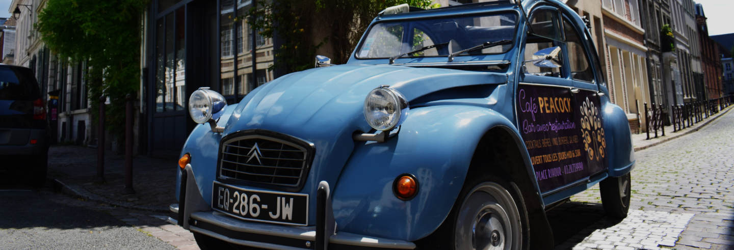 Tour di Lille in Citroën 2CV