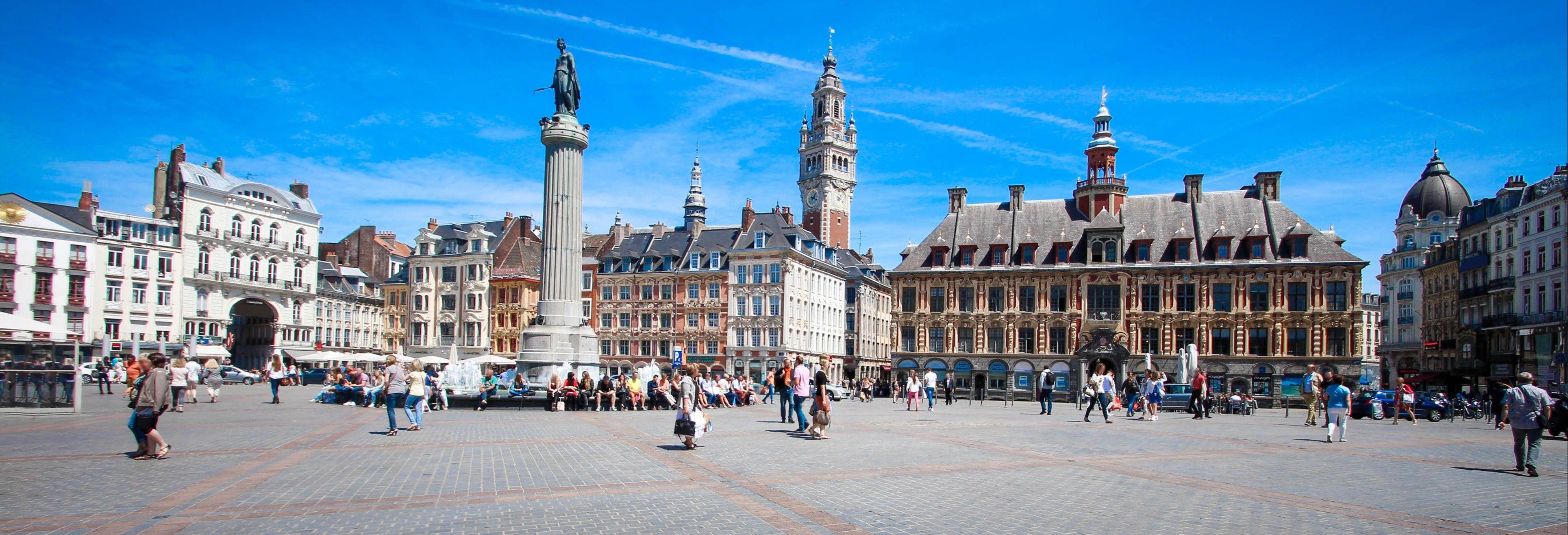 Tour panorámico por Lille