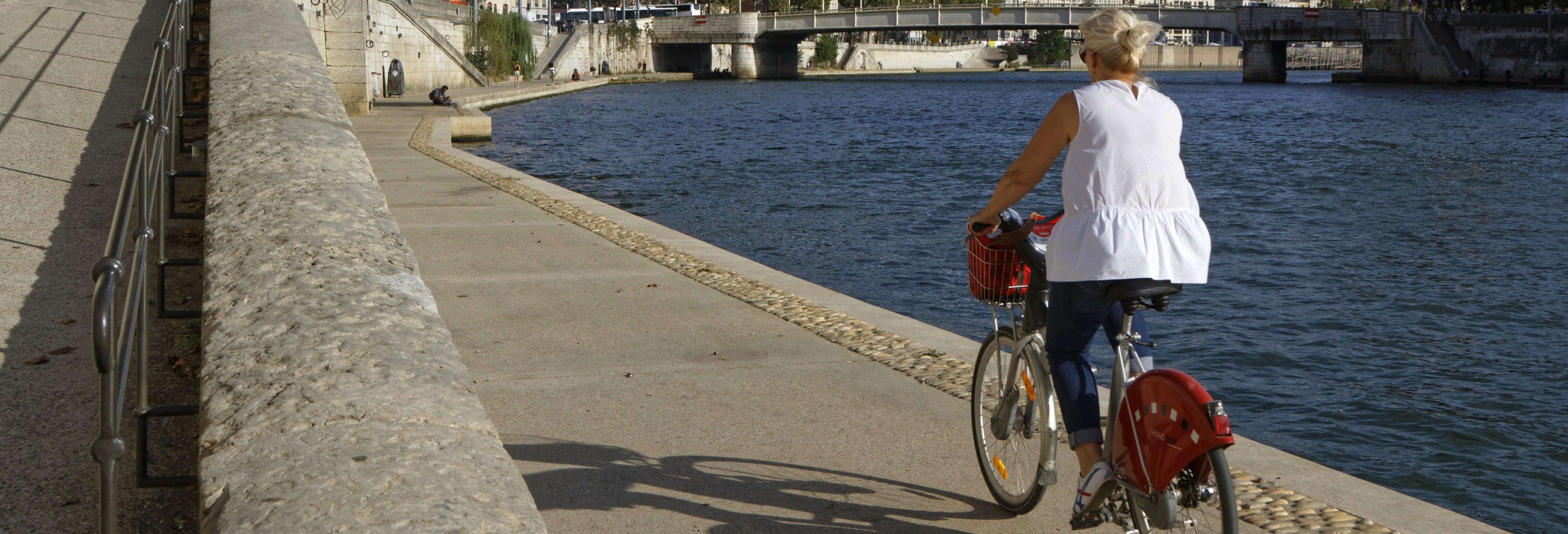 Tour di Lione in bici elettrica