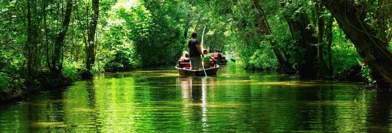 Paseo en barca por Magné