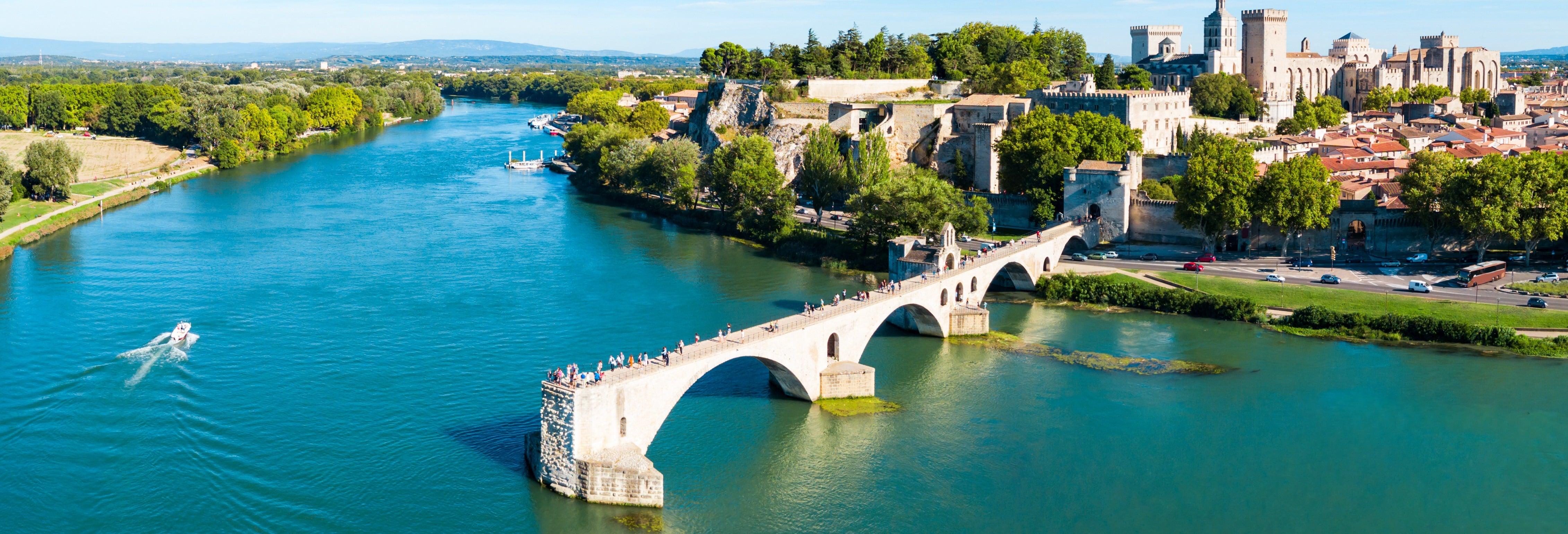 Pont du Gard, Les Baux, Aviñón y Châteauneuf du Pape
