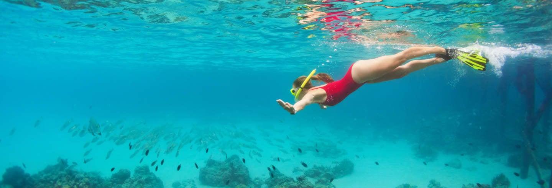 Trilha e snorkel na costa de Marselha