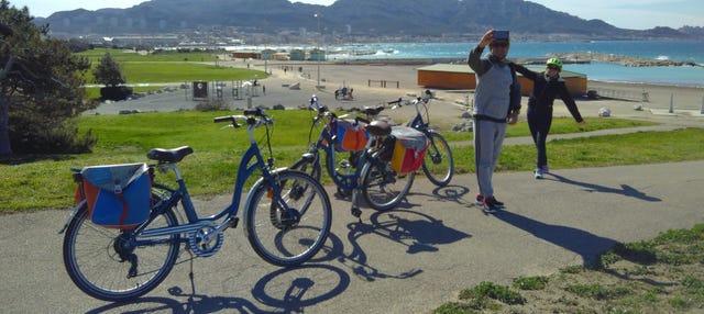 Balade à vélo au Parc National des Calanques