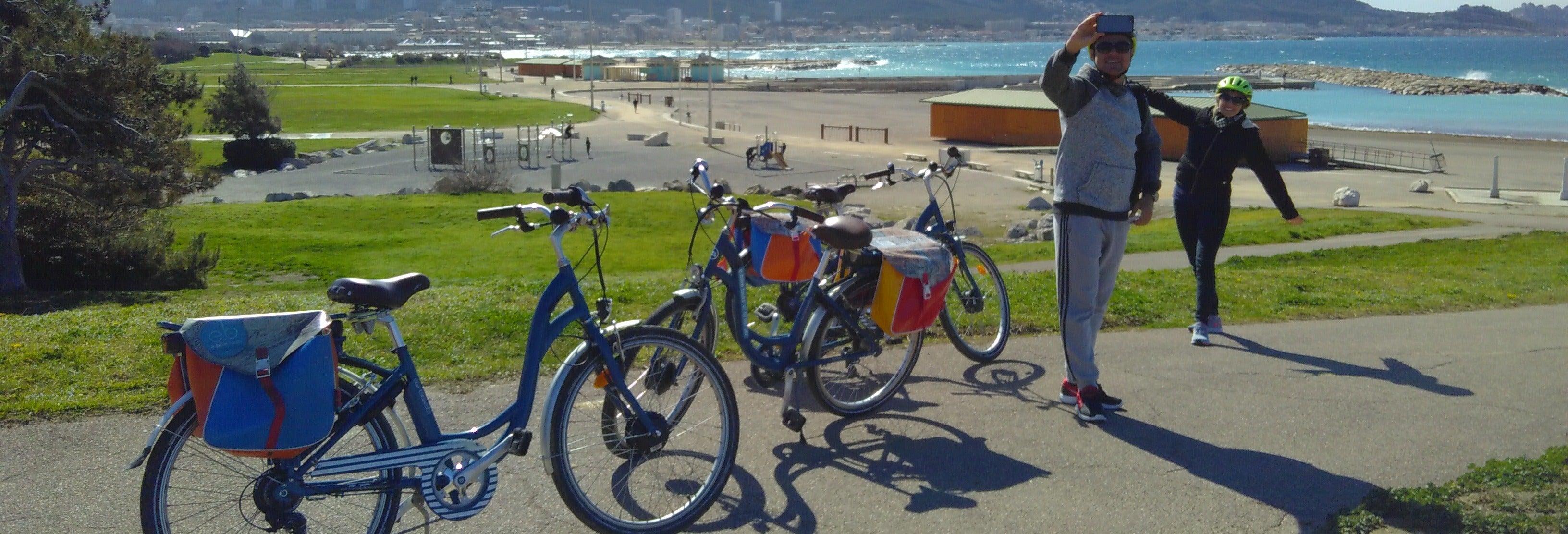 Balade à vélo électrique au Parc National des Calanques