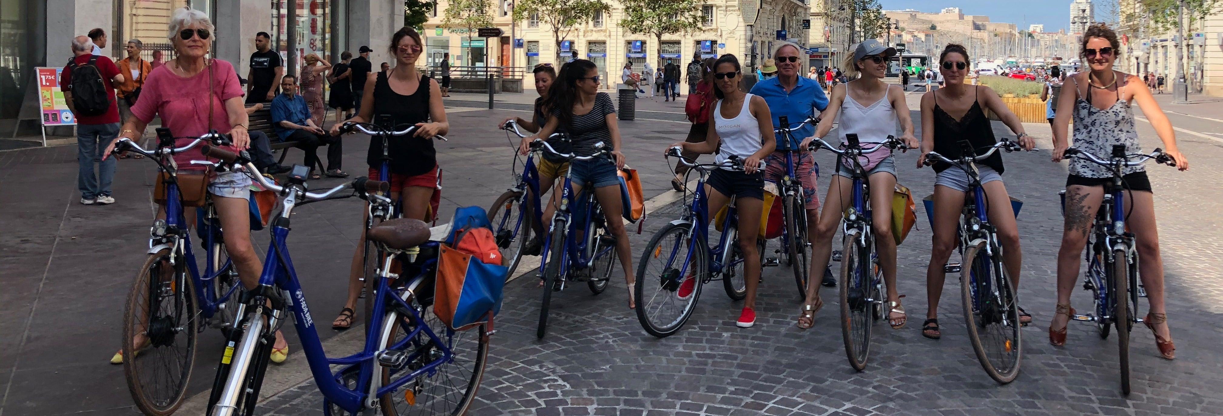 Balade à vélo dans Marseille
