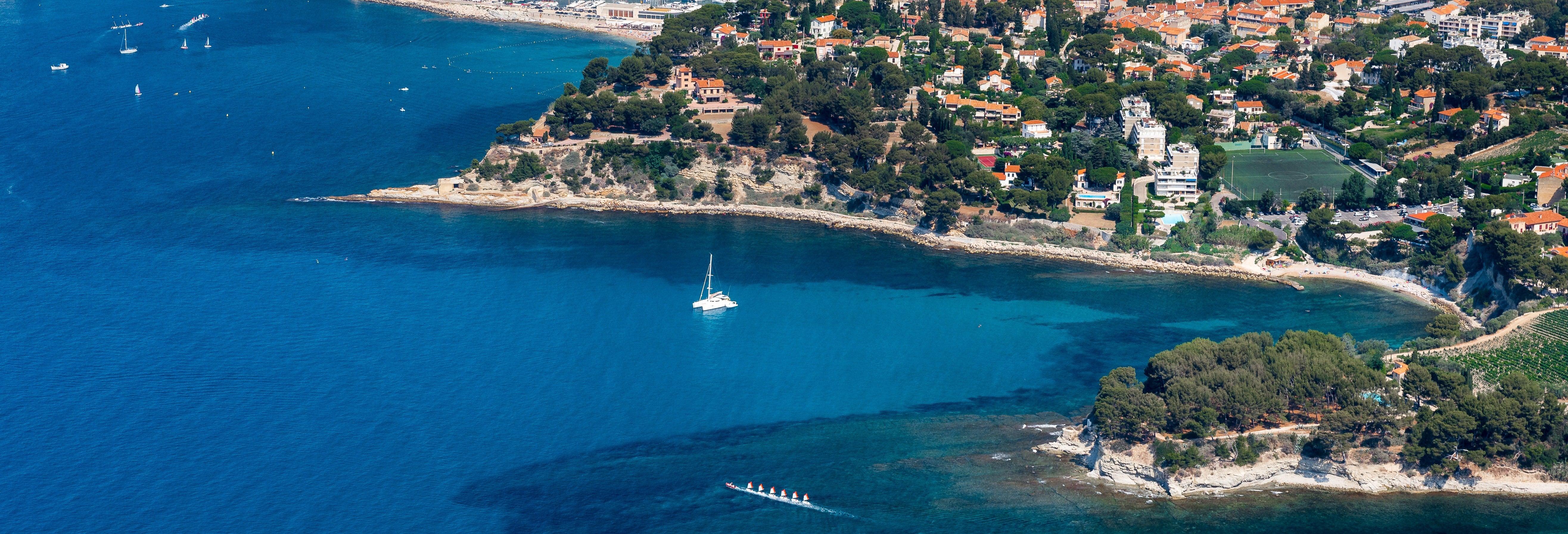 Tour panorámico por Marsella y Cassis
