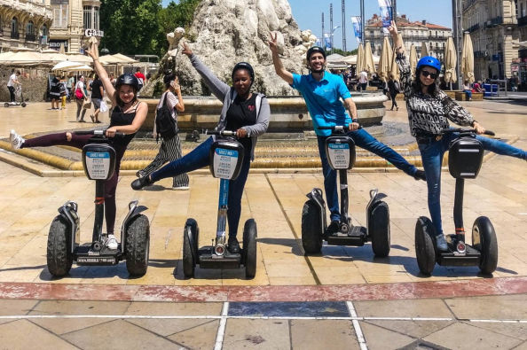 Segway tour of the centre of Montpellier