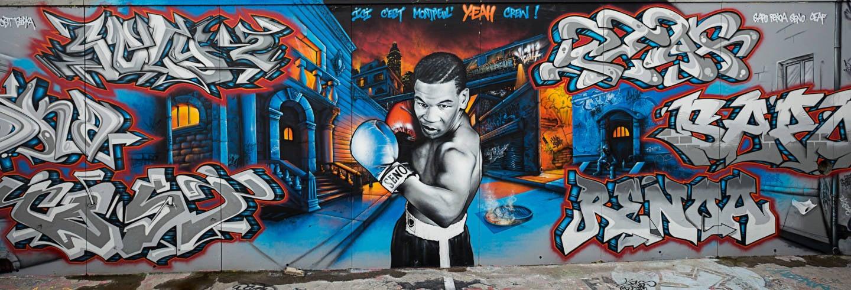 Tour de street art por Montpellier