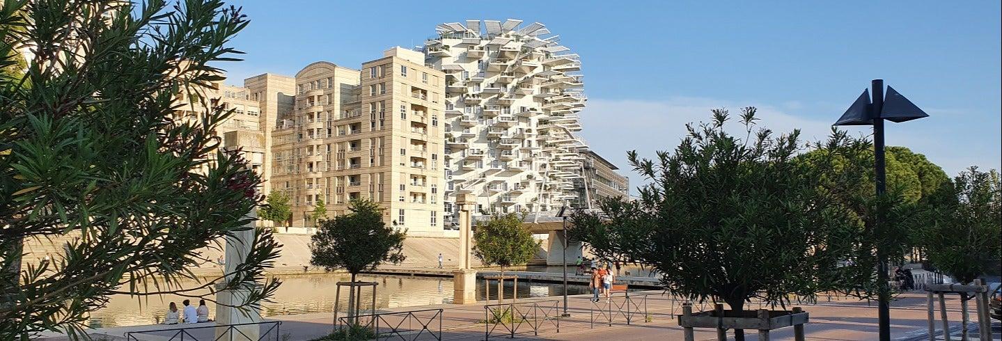 Tour por el Montpellier moderno