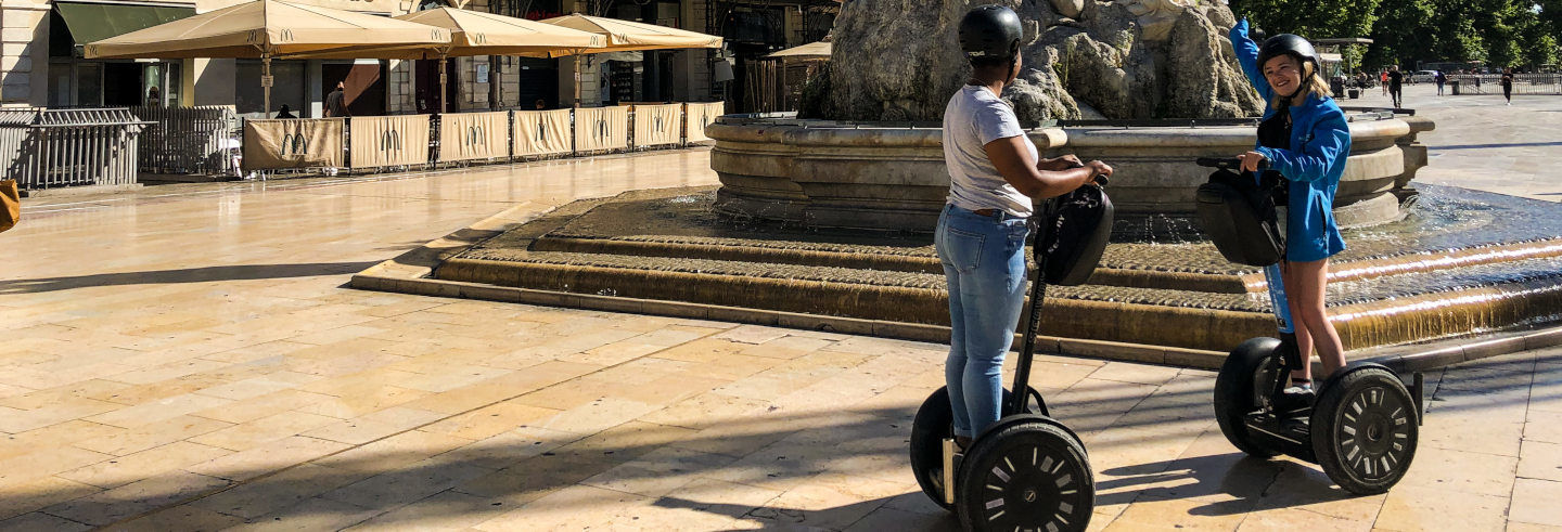 Tour di Montpellier in segway