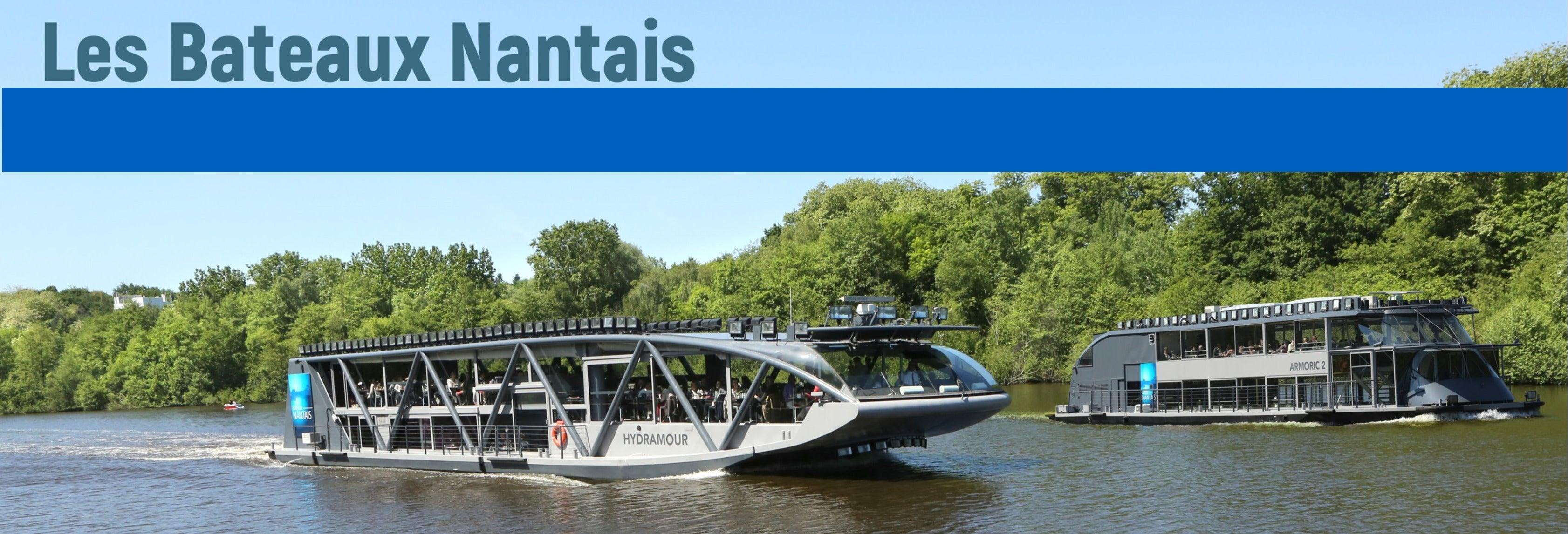 Paseo en barco por el río Erdre