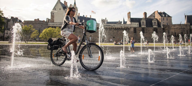Tour en bicicleta por Nantes