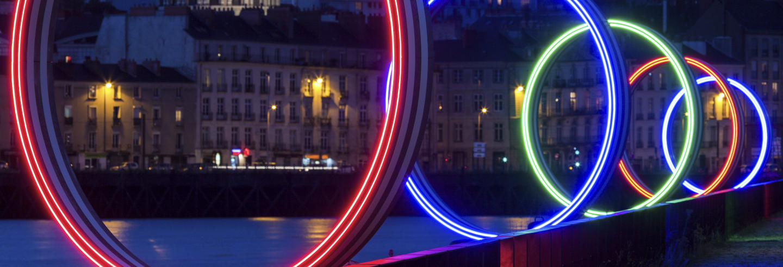 Tour noturno de segway por Nantes