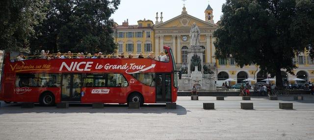 Ônibus turístico de Nice