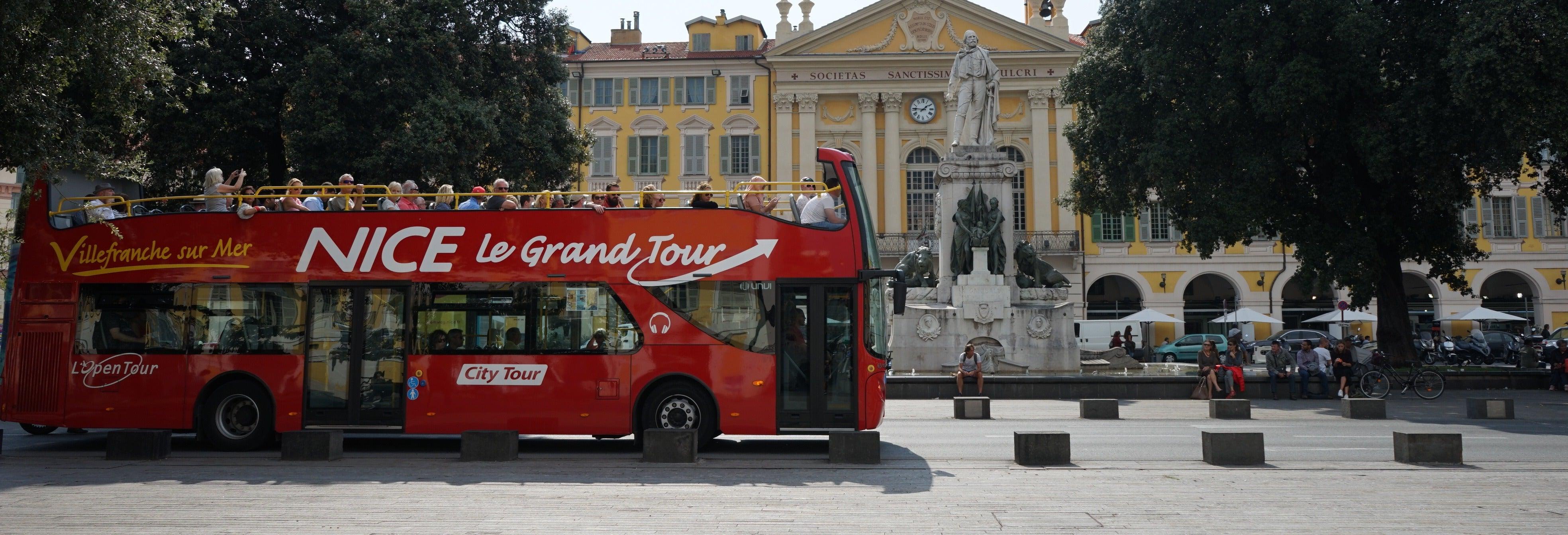 Autobús turístico de Niza