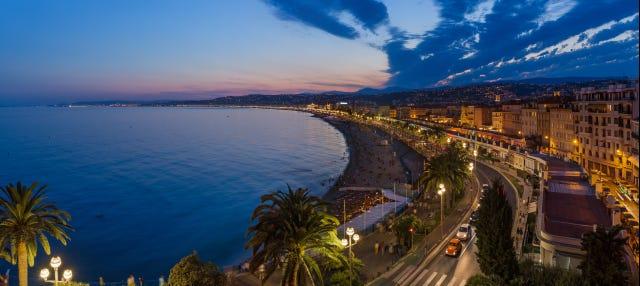 Free tour noturno por Nice