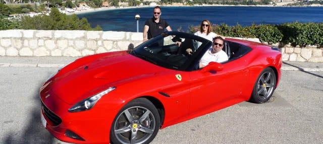 Tour de Ferrari ou Lamborghini pela Costa Azul
