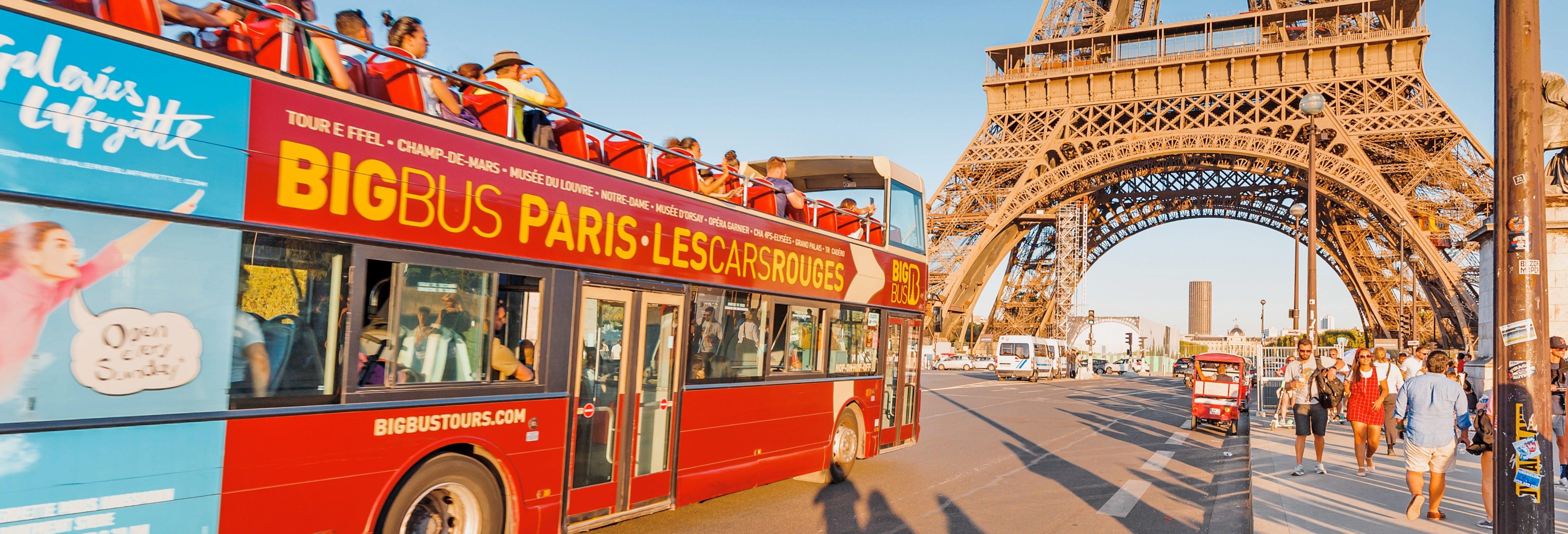 Ônibus turístico de Paris