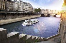 Barco turístico de París Batobus